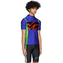 Martine Rose SSENSE Exclusive Blue Cycling T-Shirt