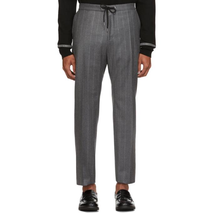 Photo: Boss Grey Banks Pinstripe Trousers