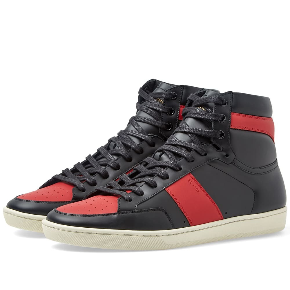 Photo: Saint Laurent SL-10H Court Classic Sneaker