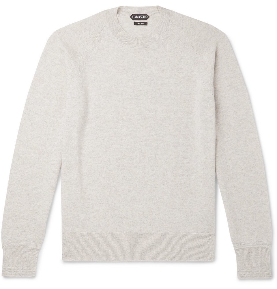 Photo: TOM FORD - Cashmere Sweater - Gray