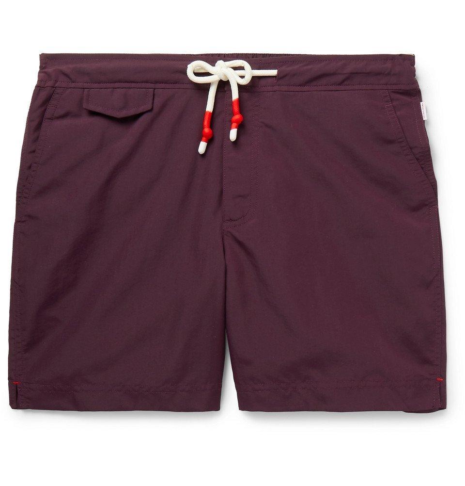 Photo: Orlebar Brown - Standard Mid-Length Swim Shorts - Purple