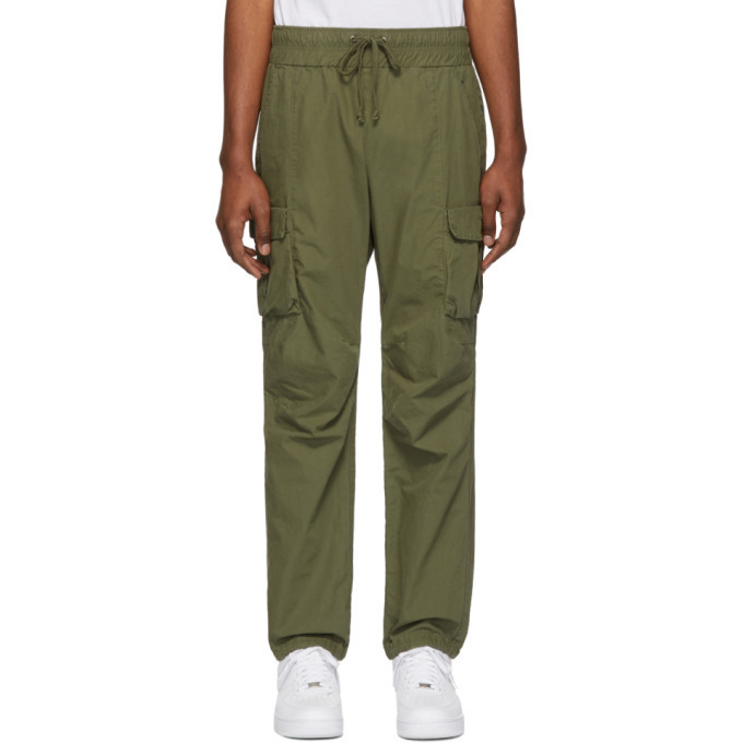 Photo: John Elliott Green Military Cargo Pants