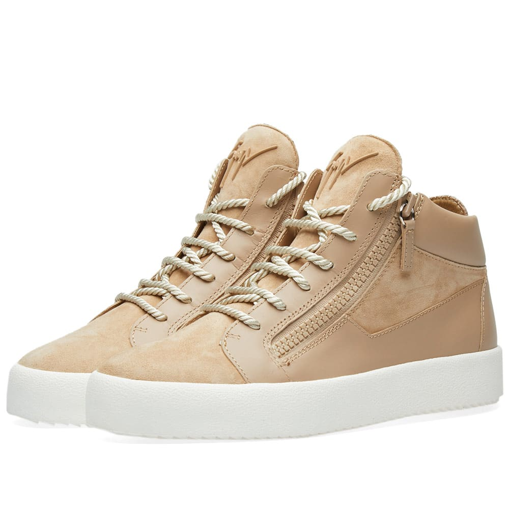 Photo: Giuseppe Zanotti Tassel Lace Double Zip Mid Sneaker