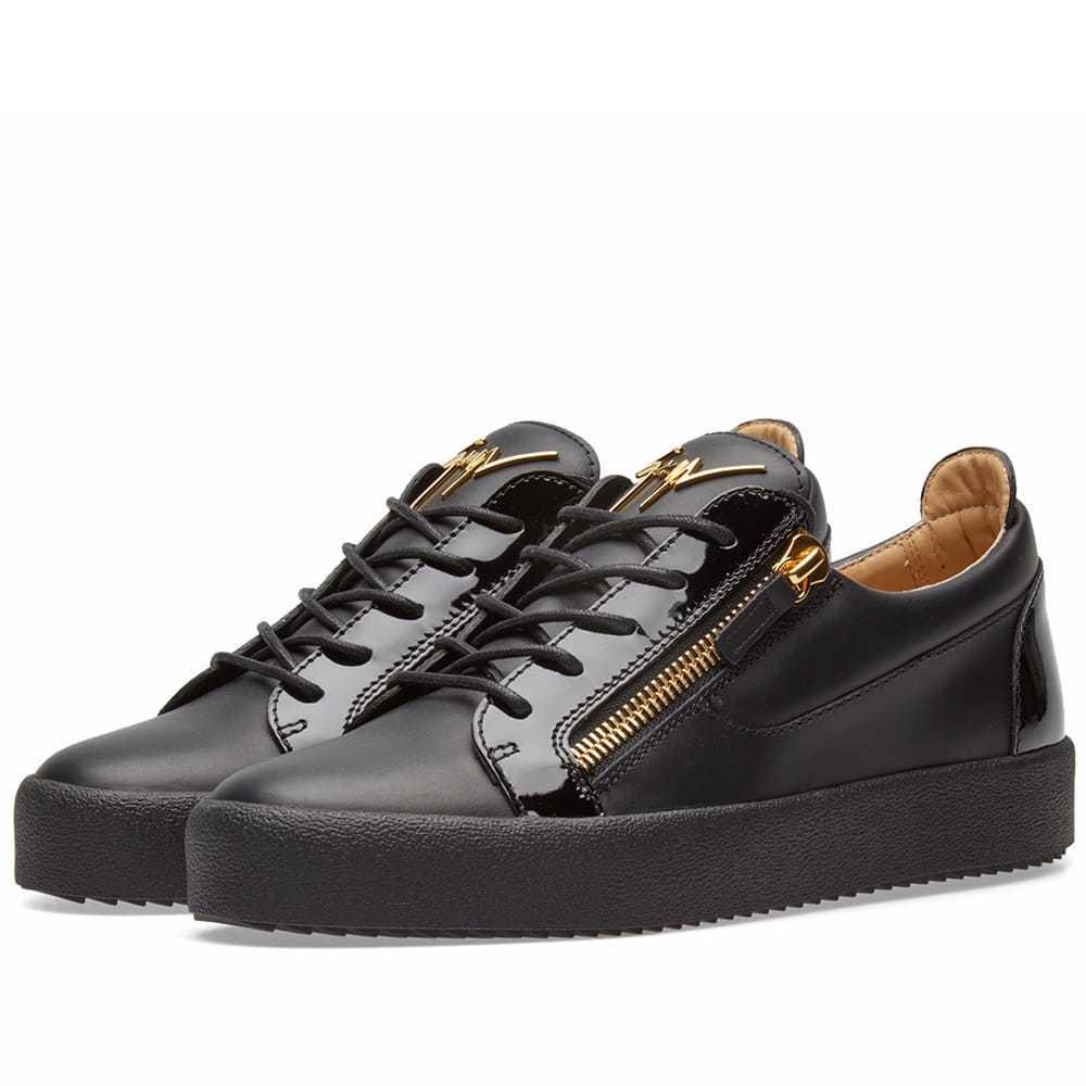 Photo: Giuseppe Zanotti Double Zip Low Sneaker Black