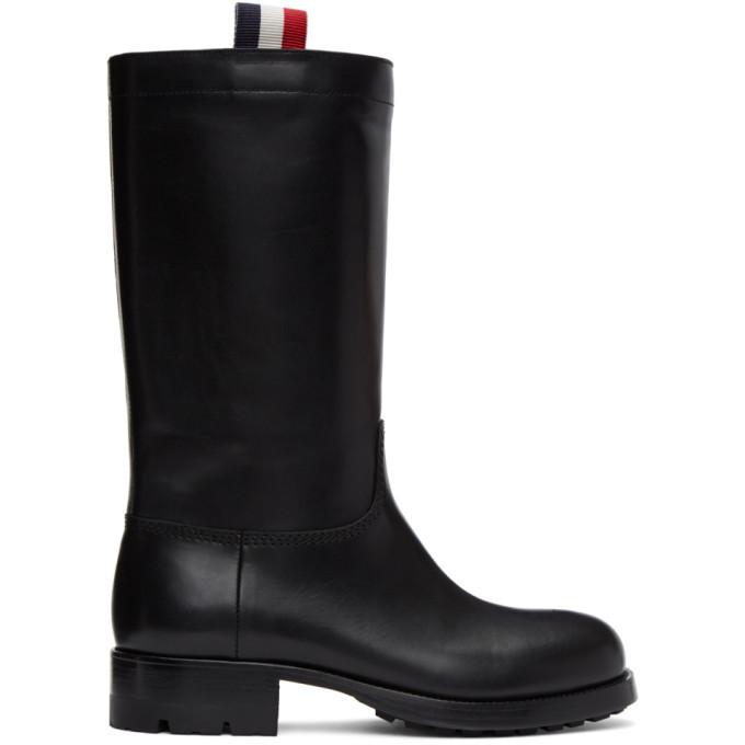 Photo: Moncler Genius Black Sanford Boots