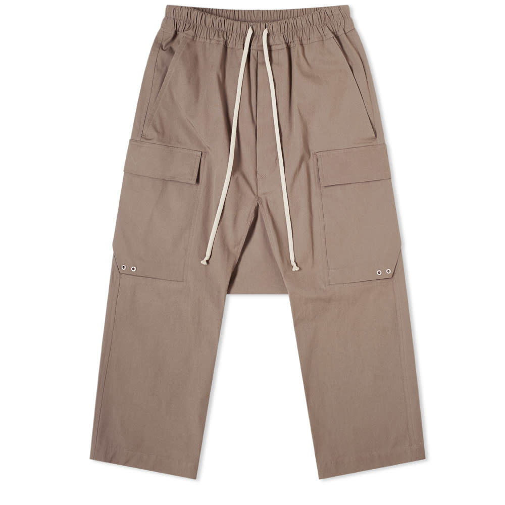 Photo: Rick Owens Drawstring Cargo Cropped Pant