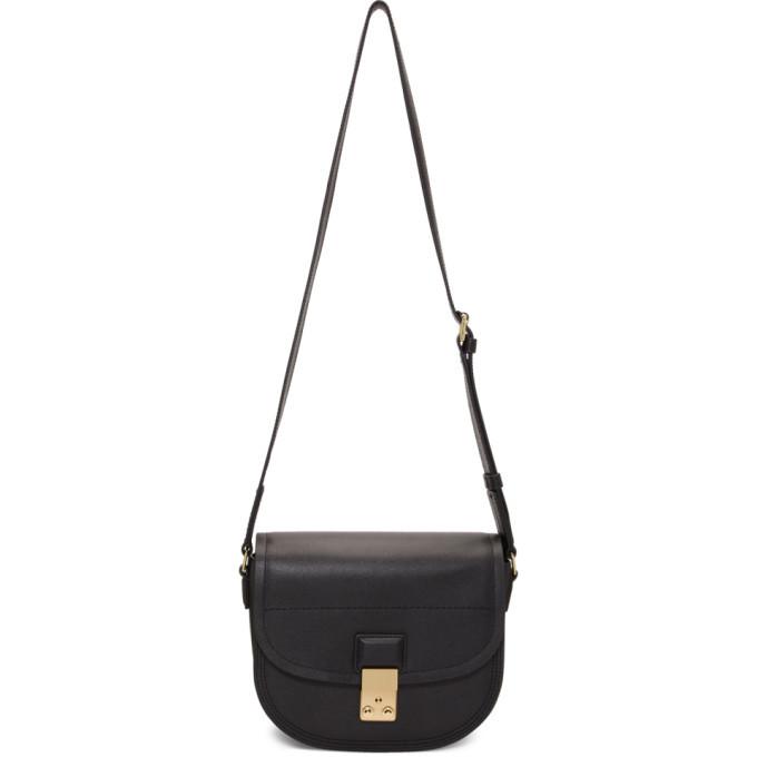 3.1 Phillip Lim Black Pashli Saddle Bag