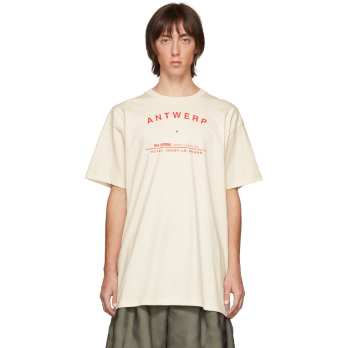 Raf Simons Off-White Tour Antwerp T-Shirt