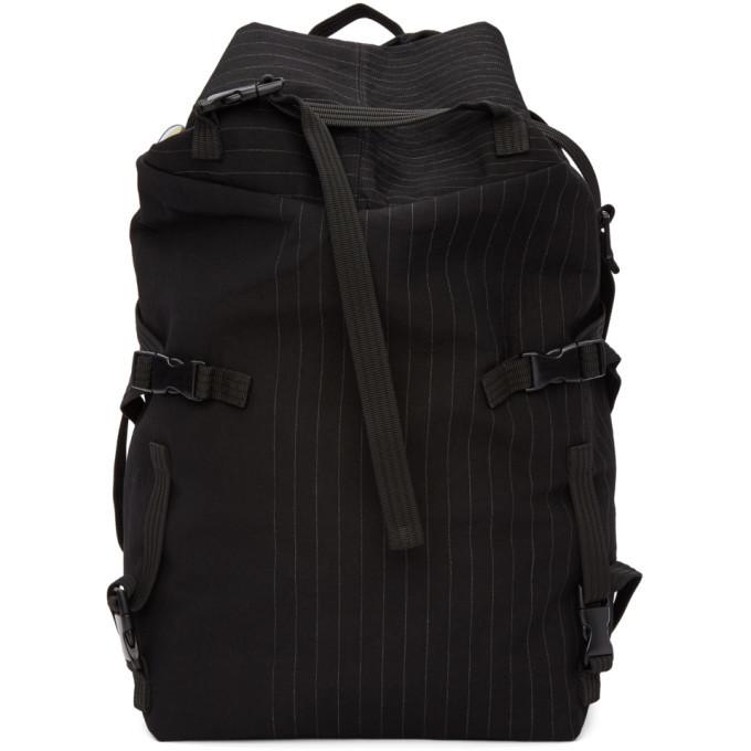 Photo: The Viridi-anne Black Pinstripe Multiple Strap Backpack