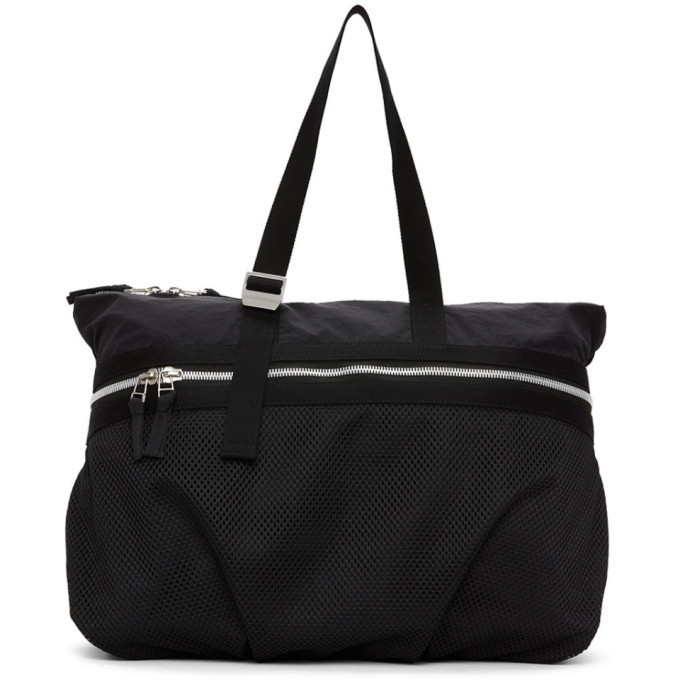 Photo: Bottega Veneta Black Nylon Duffle Bag