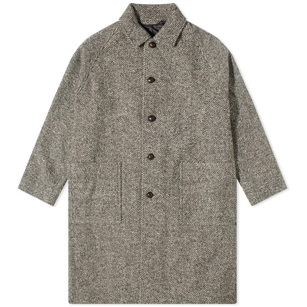 Photo: Acne Studios Oglan Wool Herringbone Coat