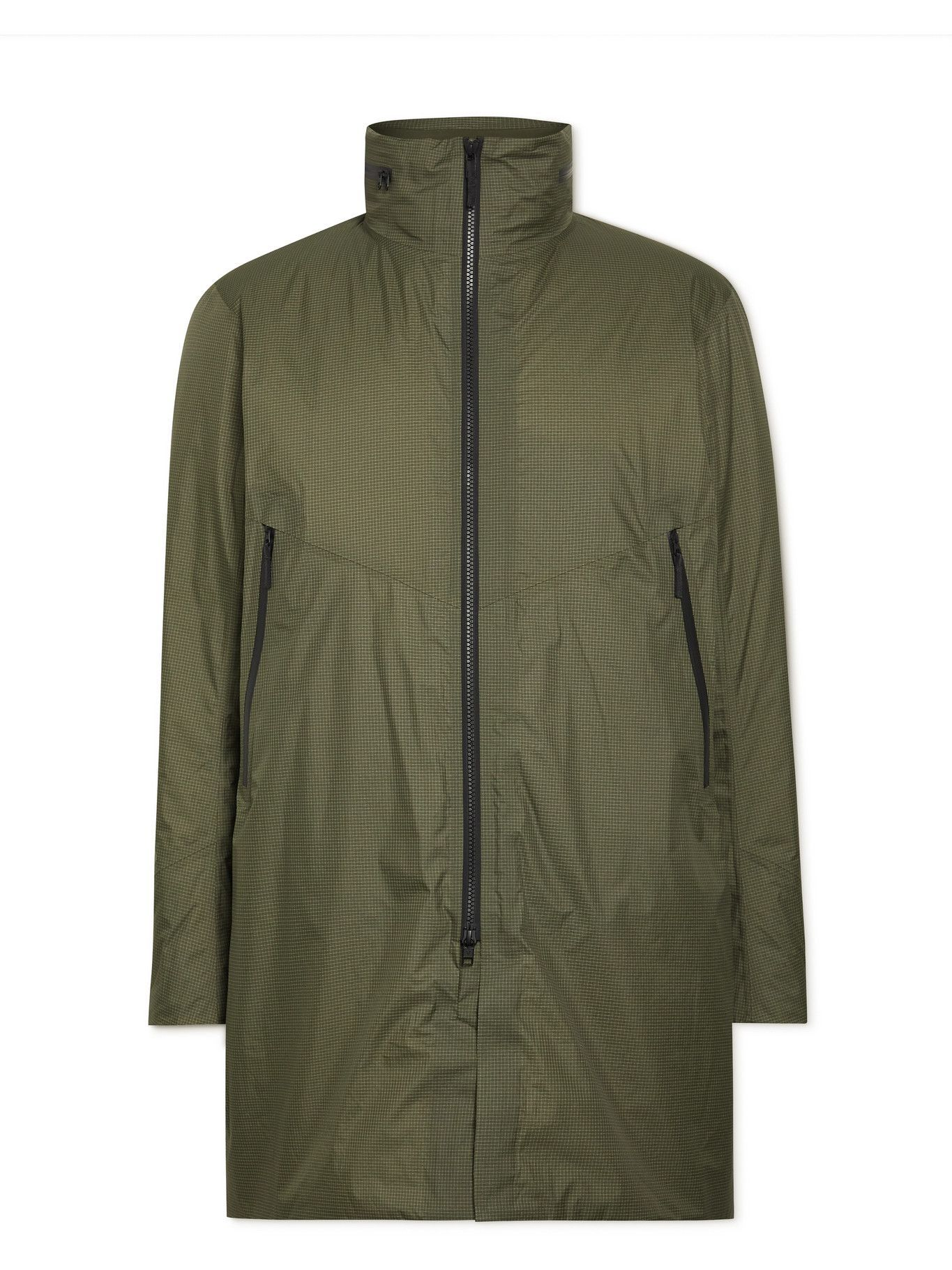 Photo: Veilance - Monitor GORE-TEX Ripstop Hooded Jacket - Green