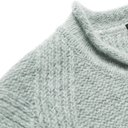 Giorgio Armani - Slim-Fit Wool-Blend Sweater - Gray green