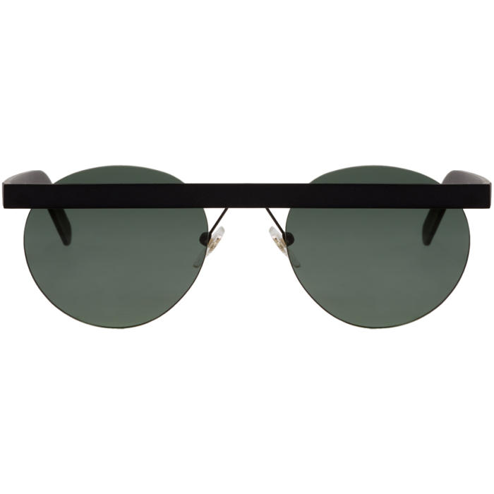 Photo: Han Kjobenhavn Black Matte Stable Sunglasses