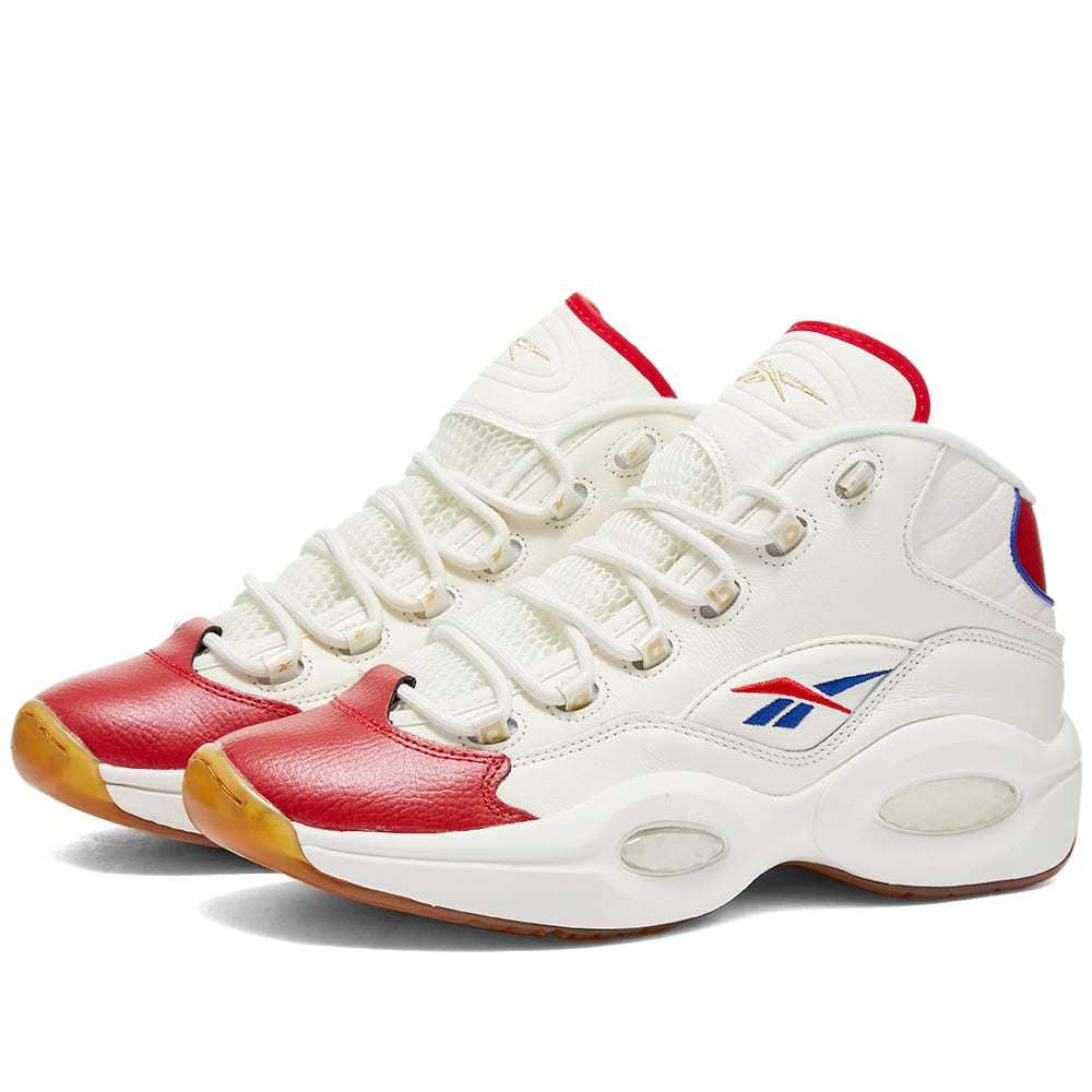 Photo: Reebok Question Mid Red Toe