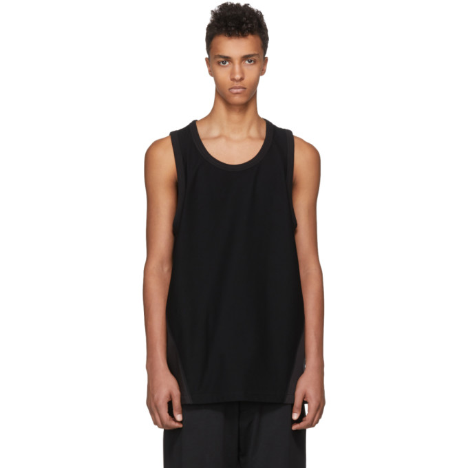 Photo: Y-3 Black James Harden Satin Tank Top