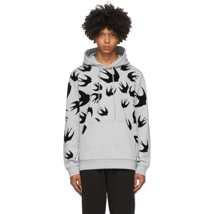 Photo: McQ Alexander McQueen Grey Swallows Hoodie
