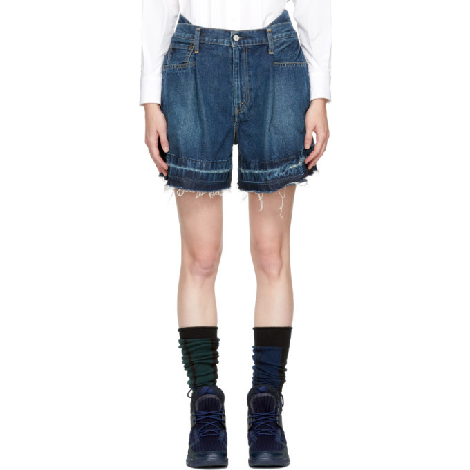 Photo: Sacai Blue Levis Edition Limited Edition Denim Shorts