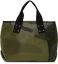 Sacai Green KAWS Edition Medium Camo Tote