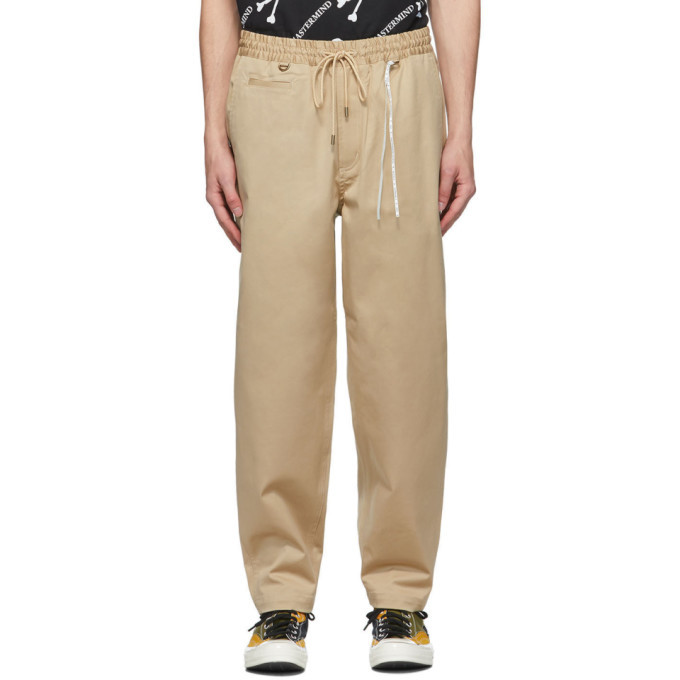Photo: mastermind WORLD Khaki Chino Lounge Pants