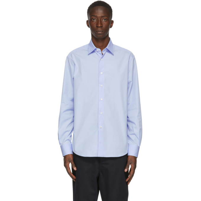 Photo: Lanvin Blue Fitted Shirt