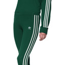 adidas Originals Green 3-Stripes Leggings