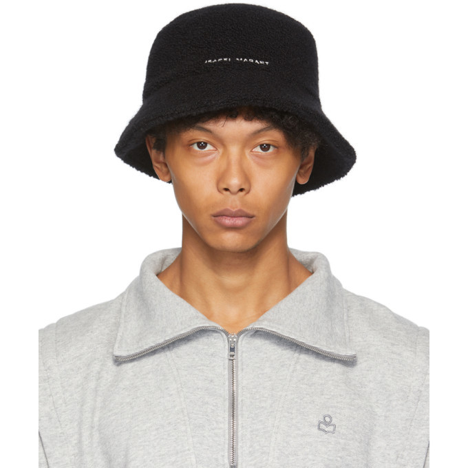 Photo: Isabel Marant Black Alpaca Denji Bucket Hat