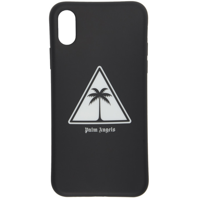 Photo: Palm Angels Black Palm Icon iPhone X Case