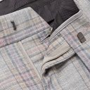 GIORGIO ARMANI - Pleated Prince of Wales Wool and Silk-Blend Suit Trousers - Gray - IT 46