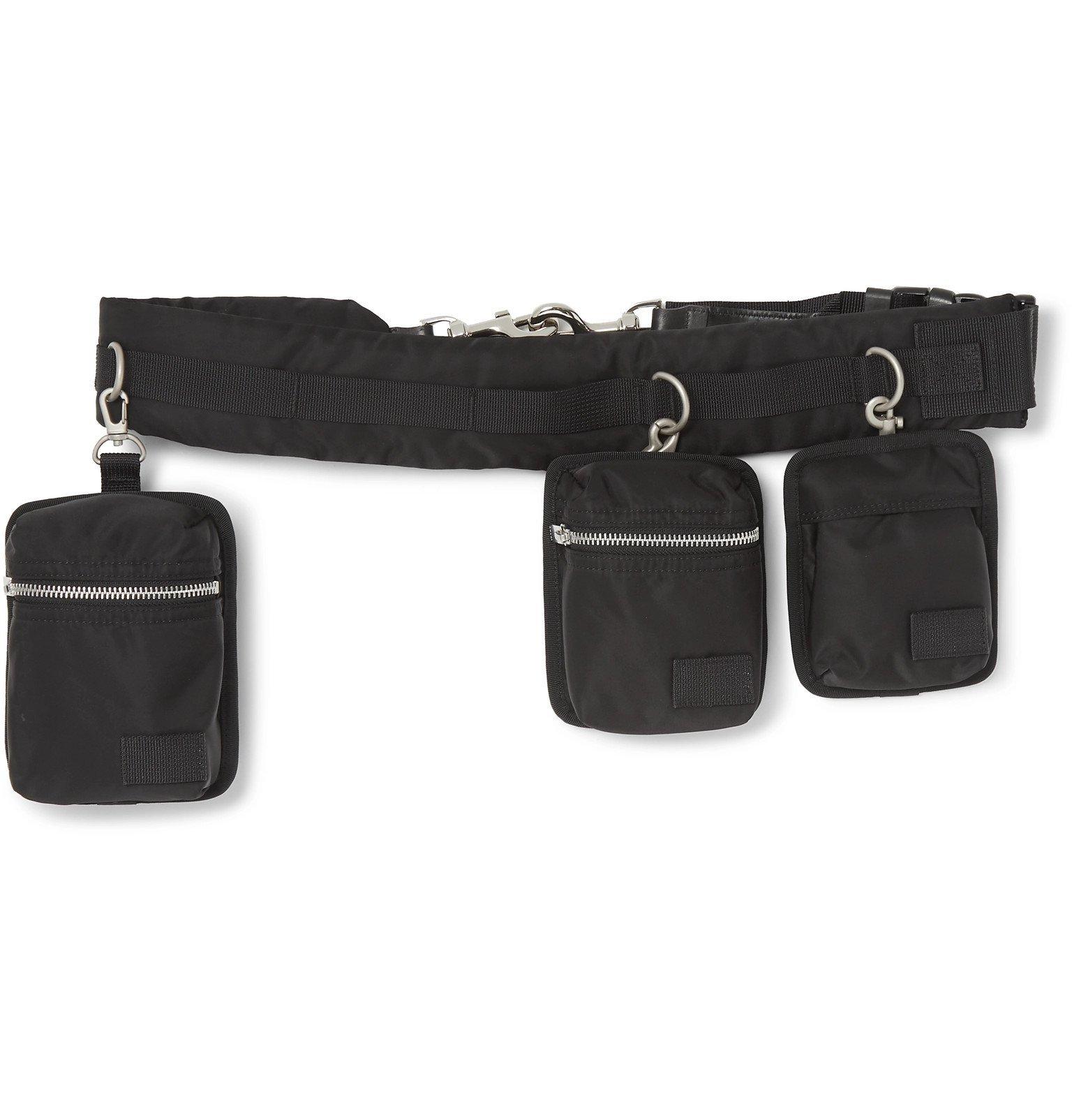 Sacai - Shell Belt Bag - Black