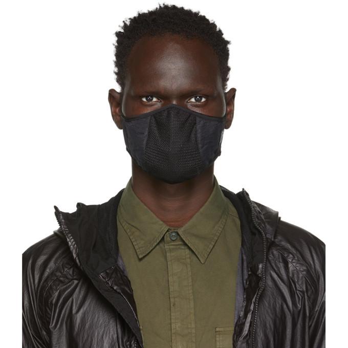 Photo: C.P. Company Black Plain Face Mask