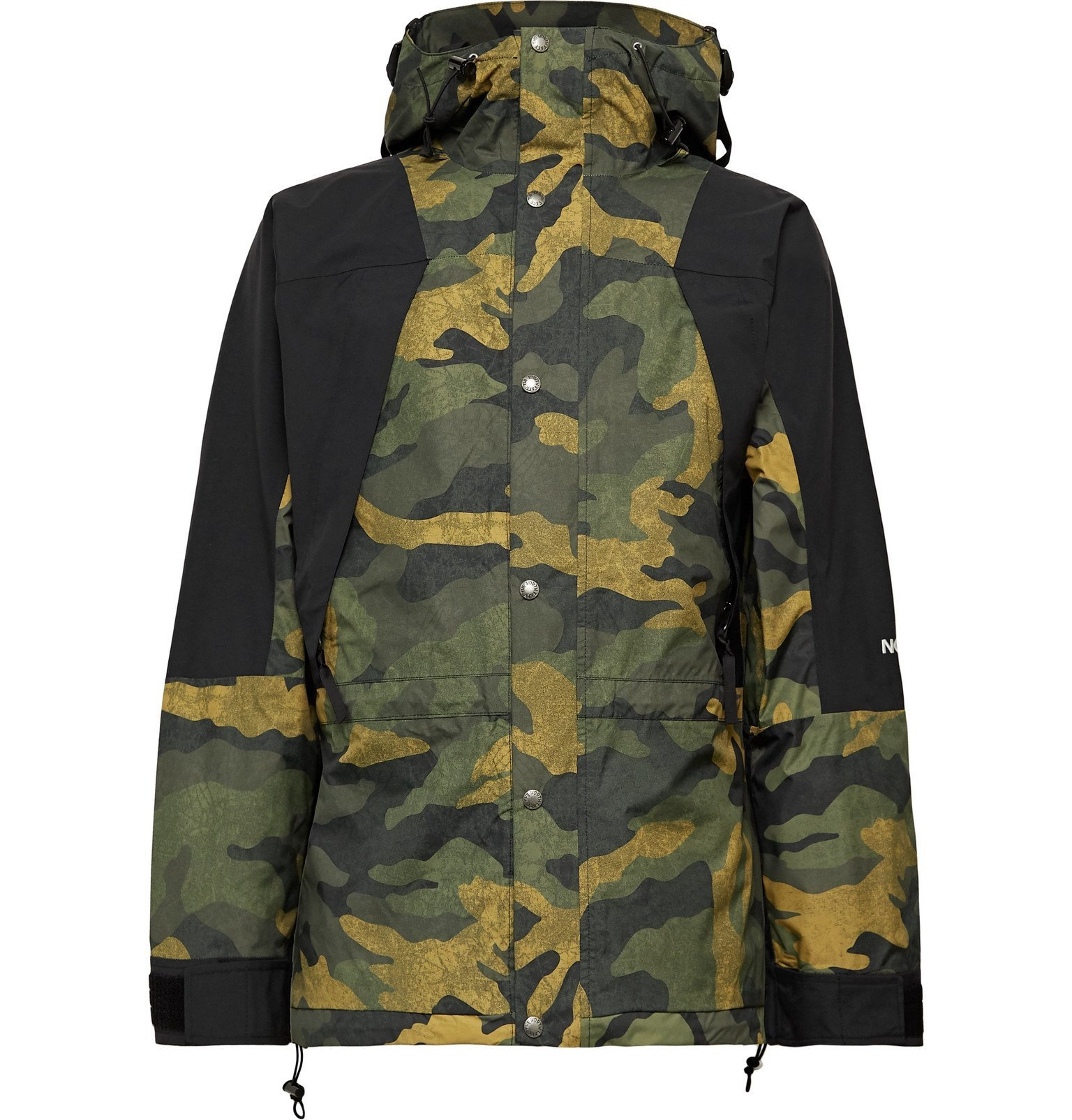 Photo: The North Face - 1994 Seasonal Retro Panelled Camouflage-Print GORE-TEX Jacket - Green