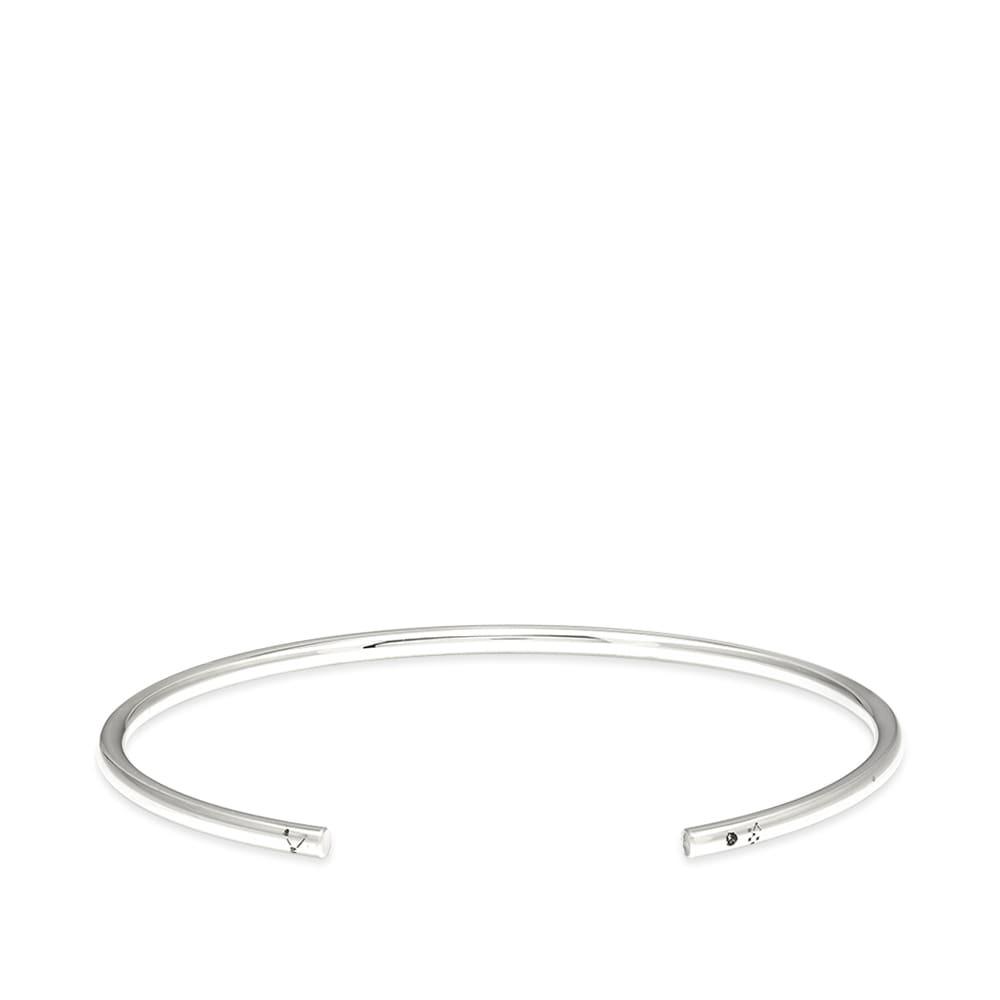 Photo: Le Gramme Polished Bangle Bracelet