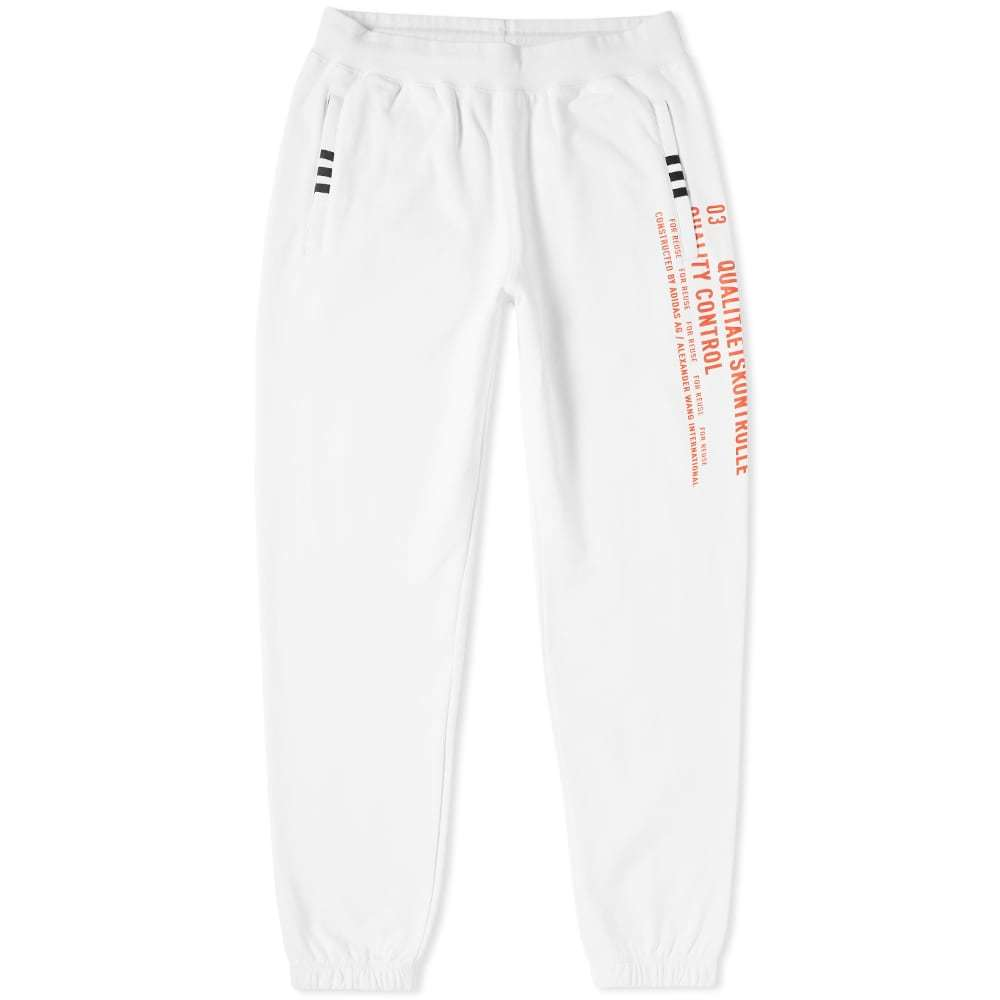 Photo: Adidas Originals by Alexander Wang Graphic Jogger White