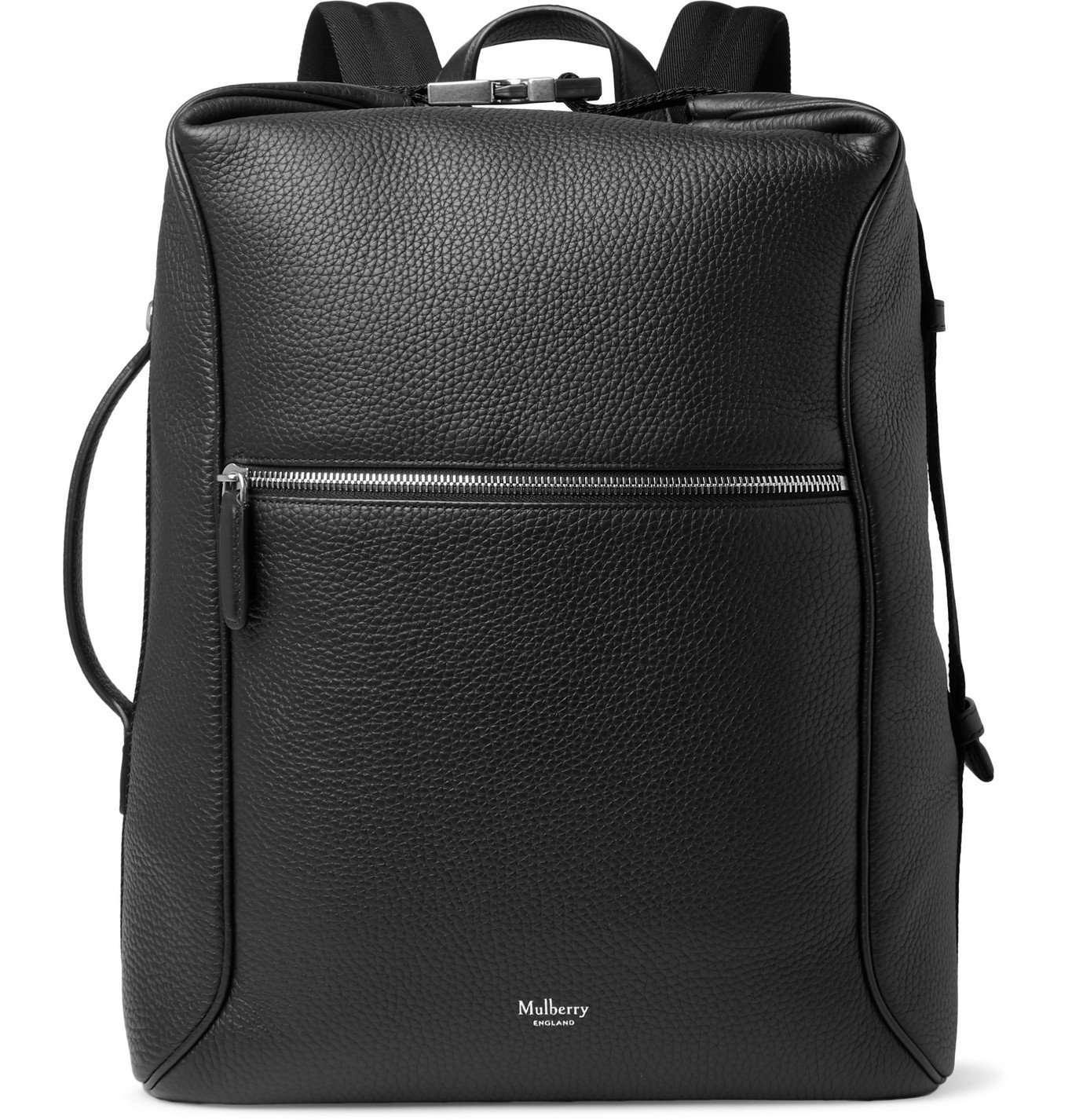 Photo: Mulberry - Urban Pebble-Grain Leather Backpack - Black