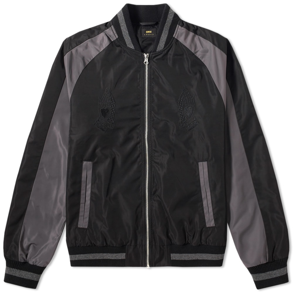 Photo: Edwin Souvenir Bomber Jacket Black
