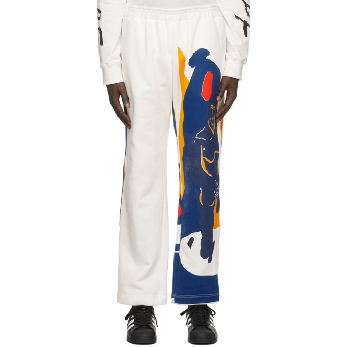 Photo: Bethany Williams White Fleece Magpie Lounge Pants