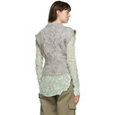 Nina Ricci Grey Wool Pull Over Vest