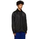 Sacai Reversible Black Solid Shrivel Jacket