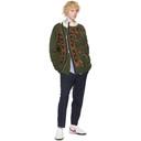 Sacai Khaki Dr. Woo Edition Wool Bandana Sweater