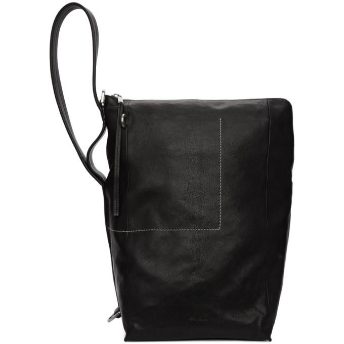 Photo: Rick Owens Black Bucket Messenger Bag