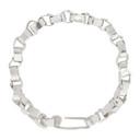 Jil Sander Silver Geometry Bracelet