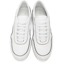 Common Projects White Cross Trainer Contrast Sneakers