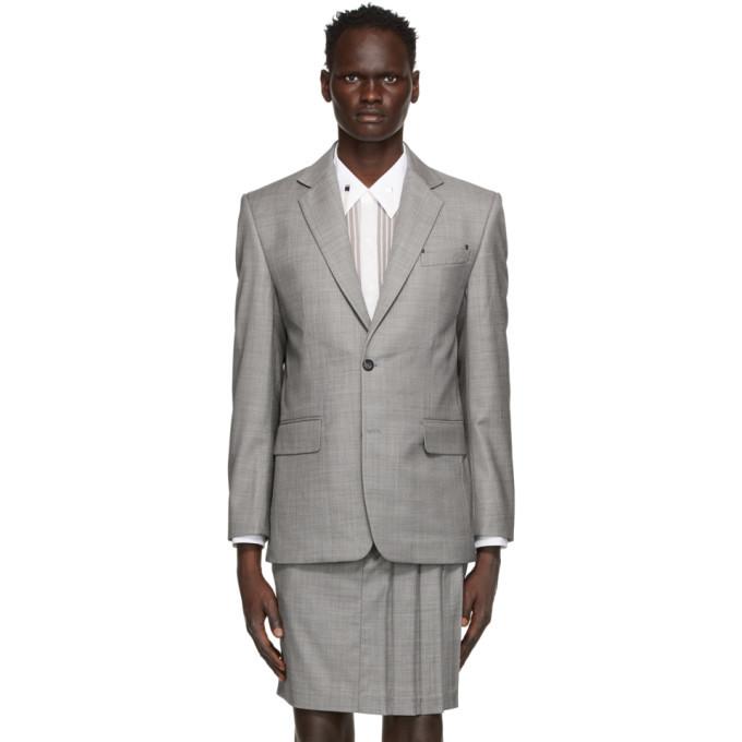 Photo: Situationist Grey Wool Classic Blazer