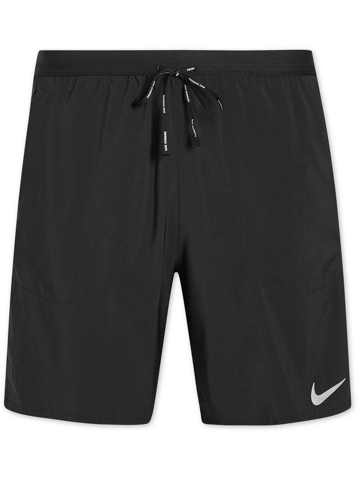 Photo: Nike Running - Flex Stride Recycled Shell Shorts - Black