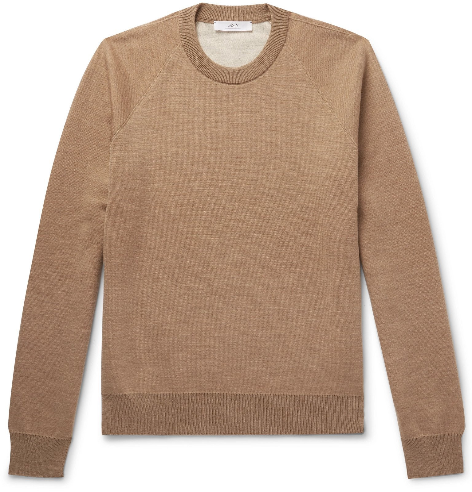 Photo: Mr P. - Knitted Sweater - Brown