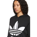 adidas Originals Black Trefoil Hoodie