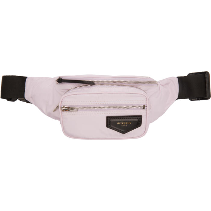 Photo: Givenchy Pink Nylon Bum Bag Pouch