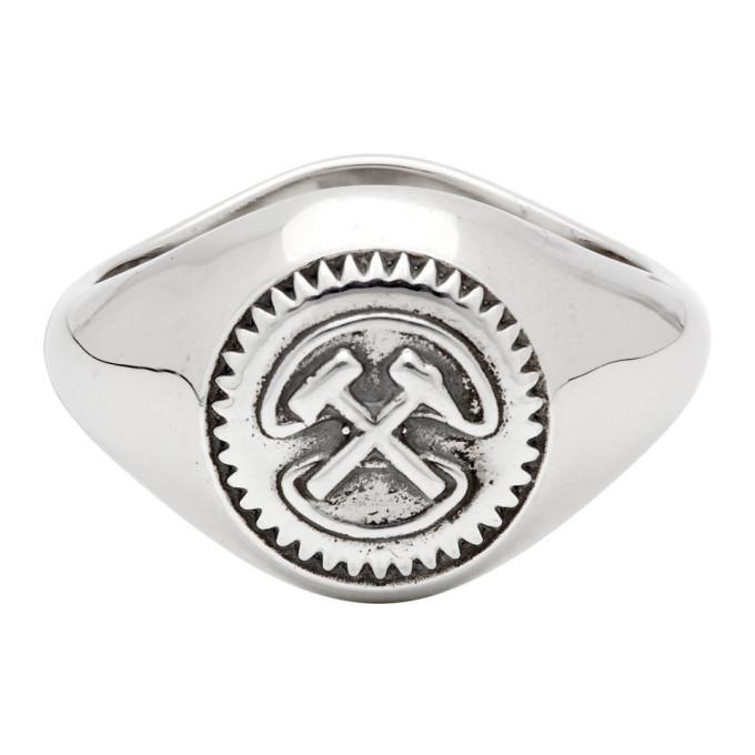 GmbH Silver Hammer Signet Ring