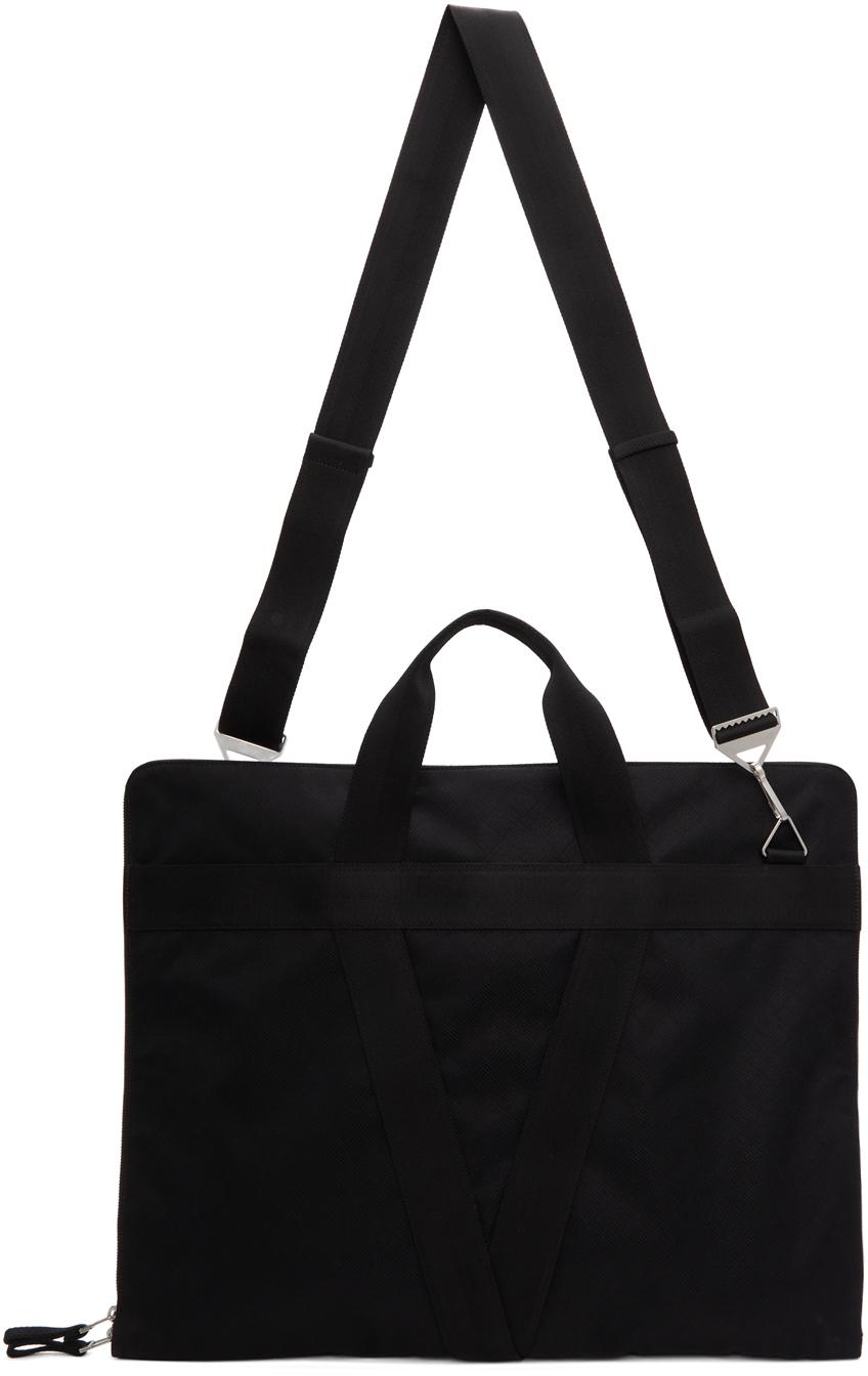 Photo: Bottega Veneta Black Suit Carrier Bag